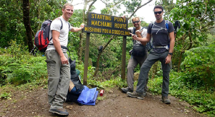 Machame Trail 7 Days Kilimanjaro Climb