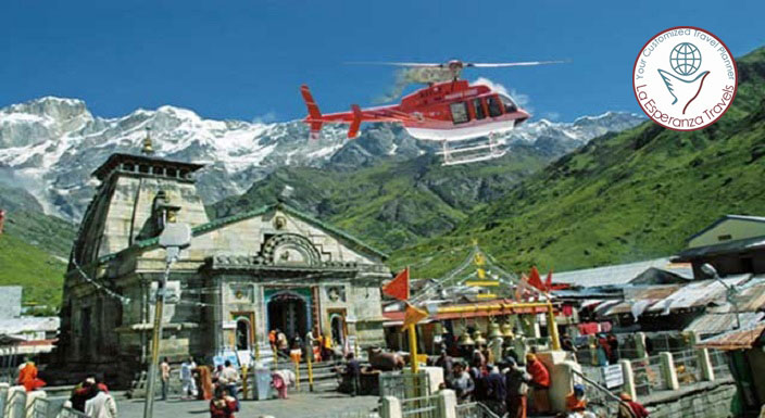 Chard ham Yatra By Helicopter