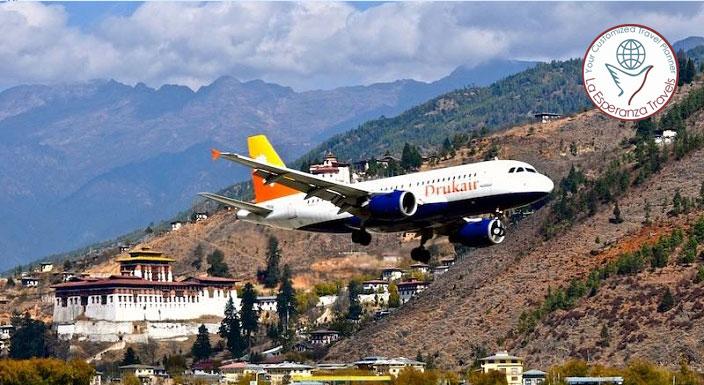 Bhutan Tour By Air (6 NIGHTS 7 DAYS)