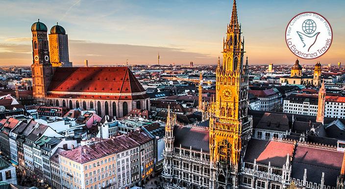 Paris to Munich 13 Nights