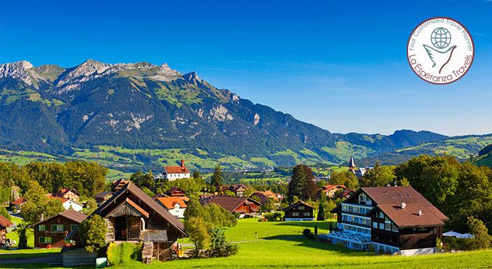 Switzerland to Prague 10 Nights
