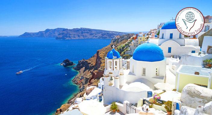 Simply Greece - Athens with Santorini
