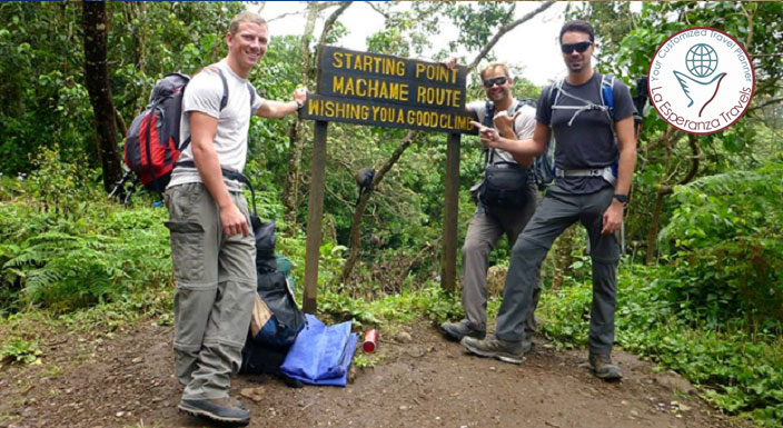 Machame Trail 7 Days Kilimanjaro Climb