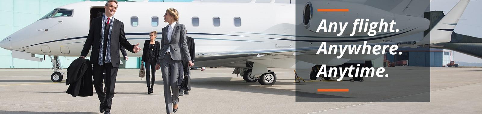 Chartered plane Service   La Esperanza Travels